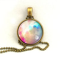 10% SALE Necklace Bright Galaxy Jewelry Universe Space Pendant Necklaces,Constellation,Gift For Her
