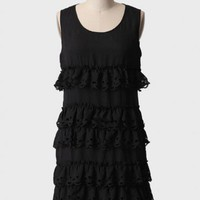 midnight hush tiered dress at ShopRuche.com