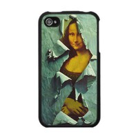 stolen mona lisa iphone 4 cover case from Zazzle.com