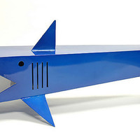 Shark Table modern stylized shark coffee table