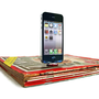 iPhone 4 and iPod magazine dock  Great gift for by NineTDesigns