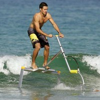 The Hydrofoil Water Scooter - Hammacher Schlemmer