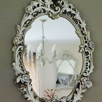 rococo style oval mirror by pippin & tog | notonthehighstreet.com