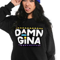 Adapt The Damn Gina Crewneck