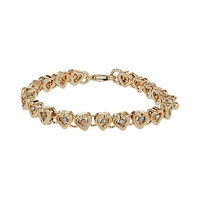Ditsy Heart Bracelet - Jewellery - Accessories - Topshop