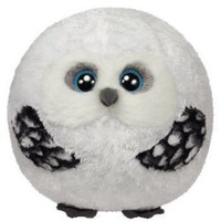 Amazon.com: Ty Beanie Ballz Hoots Owl Plush, Medium: Toys & Games