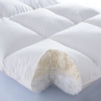 Best of Both Down/Synthetic Fill Super Featherbed - Cuddledown