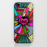 Power of Love...2 iPhone & iPod Skin by Lisa Argyropoulos | Society6