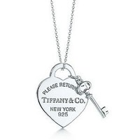 Amazon.com: Tiffany and Co Heart Tag with Key: Everything Else