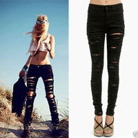 Vixen Boutique — Ripped Jeggings