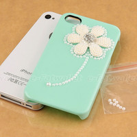 Cute Mint Green Crystal ...