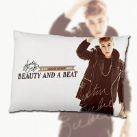 OFFER Justin Bieber 'Beauty And A Beat Feat Rihanna' New Pillow Case - Limited