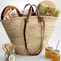 picnic basket for four from RedEnvelope.com