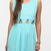 Urban Outfitters - Motel Cutout-Waist Babydoll Dress