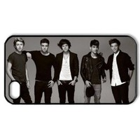 Amazon.com: CTSLR Music & Singer Series Protective Hard Case Cover for iPhone 4 & 4S - 1 Pack - One Direction - We Are Together 9: Cell Phones & Accessories