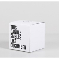 a.ok cucumber mint candle Oak