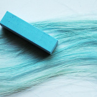 SKY BLUE  Hair Chalk // Single Stick Tint // by MissVioletLace