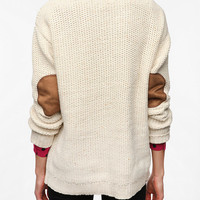 Urban Outfitters - Coincidence & Chance Flecked Elbow Patch Sweater