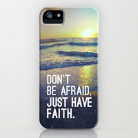 MARK 5:36 - JUST HAVE FAITH iPhone Case by Pocket Fuel | Society6