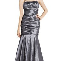 Mermaid Taffeta Long Prom Dress Formal Gown | Prom Long Dresses