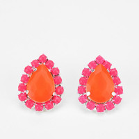 Urban Outfitters - Rocks Paper Metal Teardrop Earring