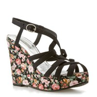 Lovely People Marianne Floral Wedge Sandal Wedges Sandal Shop Women's Shoes - DSW