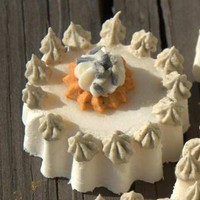 Wedding Favor Tart Soap with Lavender Buds Set of by WeddingFavors