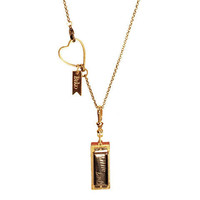BIKO — Little Lady Harmonica Necklace