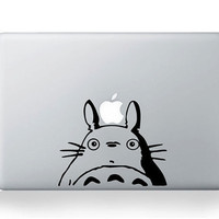 Amazing Totoro 1   Mac Decal Macbook Decals by AmusingDecal