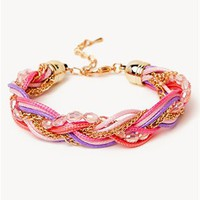A'GACI Bead + Chain Braid Bracelet - New Arrivals