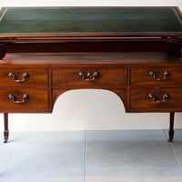 English Regency Metamorphic Mahogany Writing Table C. 1820