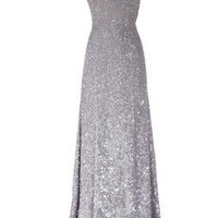 KAUFMANFRANCO | Sequin-embellished silk gown | NET-A-PORTER.COM