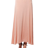 Papaya Clothing Online :: SOLID LONG SKIRT