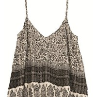 Billabong pleat it cami - Black/Whitecap - J503WPLE				 | 