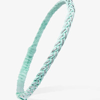 Braided Metallic Headband