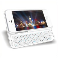 Amazon.com: Tsirtech White Slide-out Wireless Bluetooth Keyboard Case Cover For iPhone 5: Cell Phones &amp; Accessories