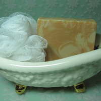 Satsuma Scented Soap  an Aromatic Citrus Fragrance by ForgetMeNotSoapShop
