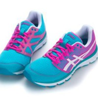 Asics Women&#x27;s Gel-volt 33 Running Shoes, Light Blue-White-Pink