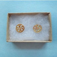 Toryburch style, Petit Earrings gold or silver