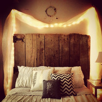 Reclaimed Wood Headboard - Custom &amp; Affordable