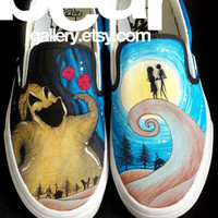 Custom Vans -  Oogie Boogie Nightmare Before Christmas
