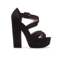 PLATFORM SANDAL - Shoes - TRF - ZARA United States