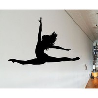 Amazon.com: Dance AL 042 Sports Vinyl Decal Car or Wall Sticker Mural: Everything Else