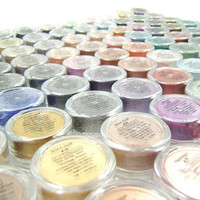 Eyeshadow Mineral Makeup - Choose Your Own 5 Eye Colors