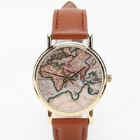 Urban Outfitters - Around the World Leather Watch