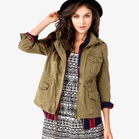 Drawstring Utility Jacket
