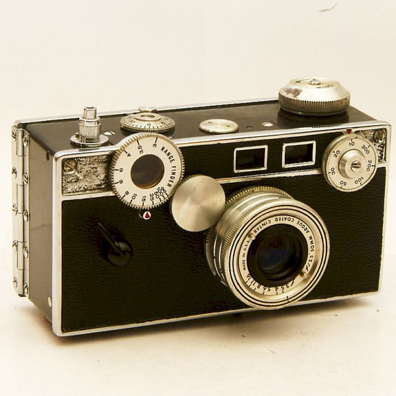 vintage argus c3 35mm rangefinder camera from brasslens on etsy. Black Bedroom Furniture Sets. Home Design Ideas
