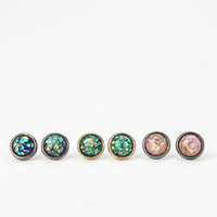 Cosmic Dust Earring Set- Multi One Size- Multi One