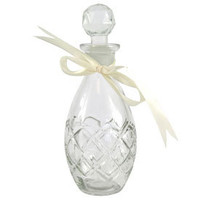 Vintage Collection Teardrop Glass Perfume Bottle | Dunelm Mill