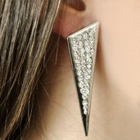TRIANGLE DAGGER EARRING - New Arrivals - Bakers Footwear